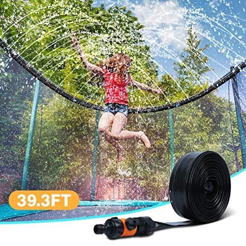 🥇 Ligttle Trampoline Sprinkler for Kids – Outdoor Trampoline Water Sprinkler for Kids and Adults