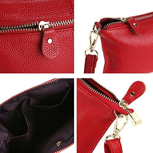 Red Shoulder Wristlet Women Wallets Phone PU Small Purse for Clutch Bag leather Crossbody Bag Handbag Fashion O4BqzZfYB
