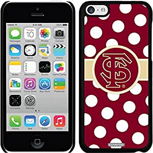 fashion case iphone 5s Black Thinshield Snap-On Case with Florida State Polka Dots Design