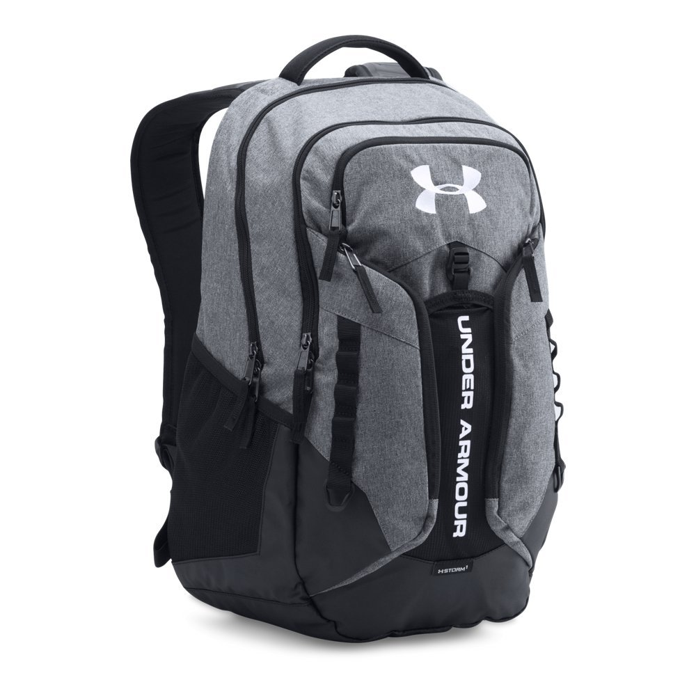 Under Armour Storm Contender Backpack, Graphite (040)/White, One Size Fits All by Under Armour