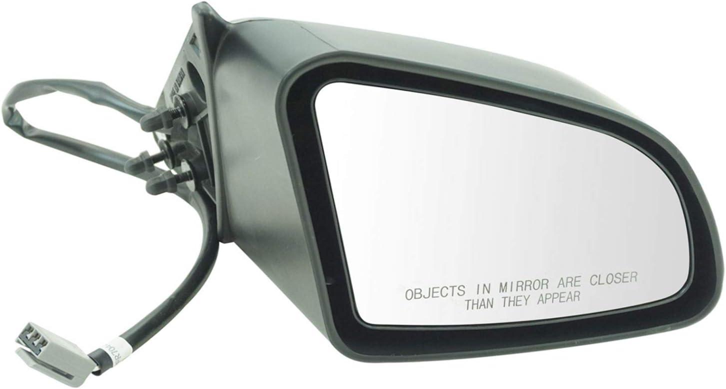 Power Side View Mirror Driver Left LH for 88-94 Tempo Topaz 4 Door Sedan