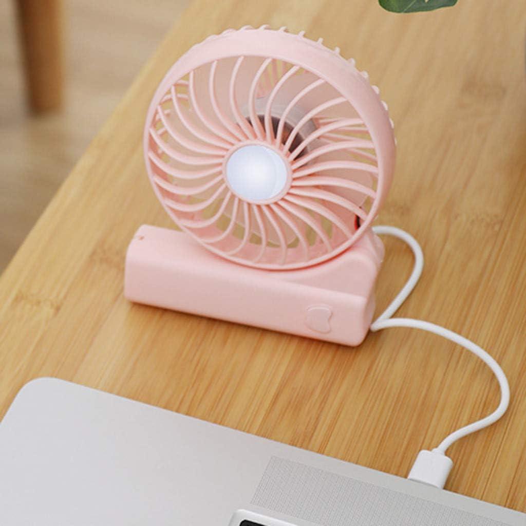 QHJ - Ventilador portátil portátil con ventilador de aire plegable ...