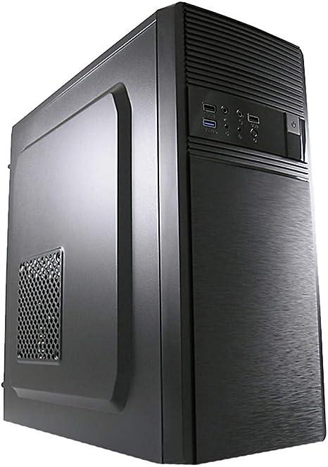LC-Power 7019B Midi-Tower Negro - Caja de Ordenador (Midi-Tower, PC, Metal, Negro, ATX,Micro ATX,Mini-ITX, 14,5 cm): Amazon.es: Informática