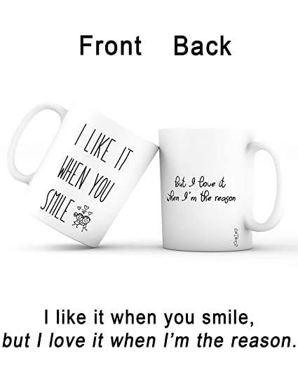 gift idea mug love unique ceramic novelty holiday christmas gift for men husband women wife girlfriend