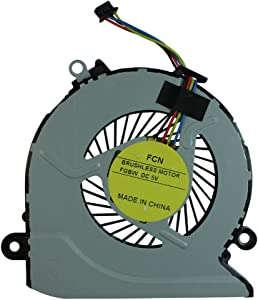 Power4Laptops Replacement Laptop Fan for HP Pavilion 17-g121ur, HP Pavilion 17-G121WM, HP Pavilion 17-G122CY, HP Pavilion 17-G122DS, HP Pavilion 17-g122nf