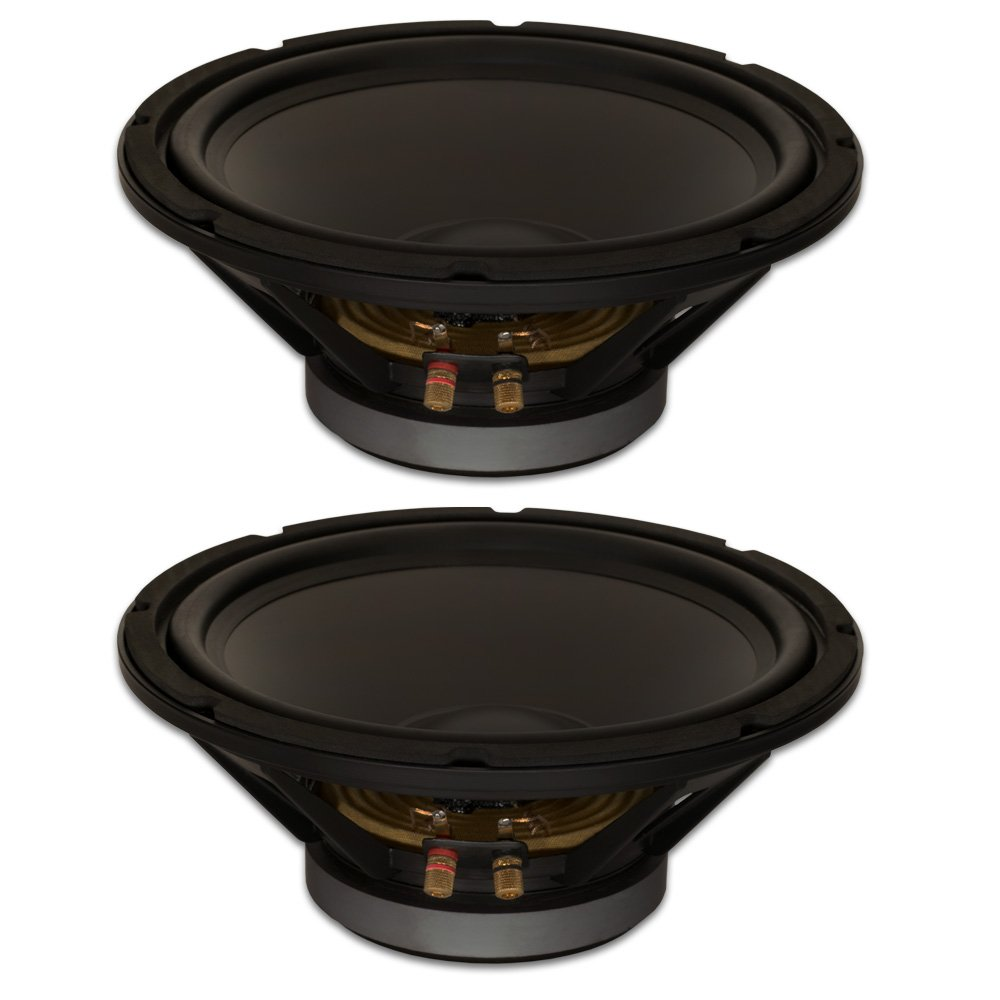 Goldwood Sound, Inc. Stage Subwoofer, Heavy Duty 8ohm 12'' Woofers 450 Watts each Replacement 2 Speaker Set (GW-12PC-8-2) by Goldwood Sound, Inc.