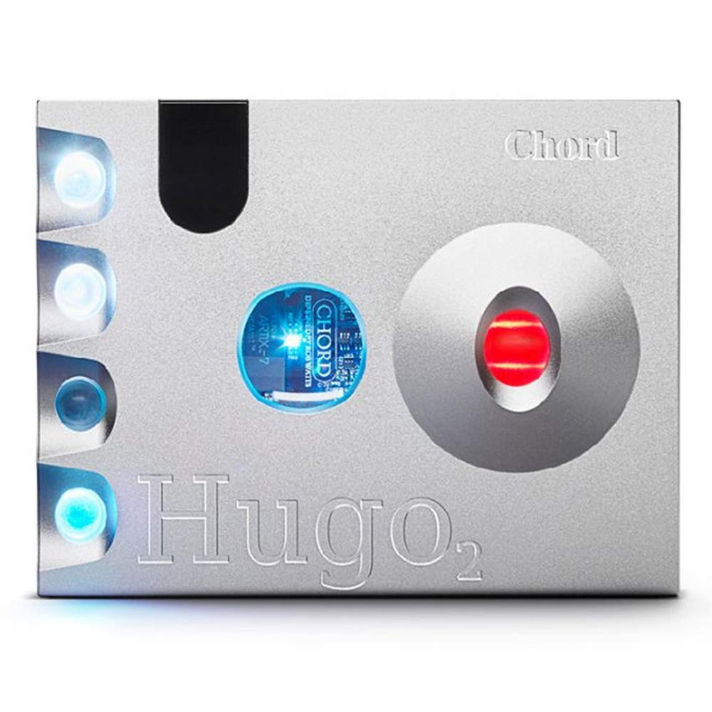 Chord Hugo 2 Transportable DAC Headphone Amplifier (Silver)
