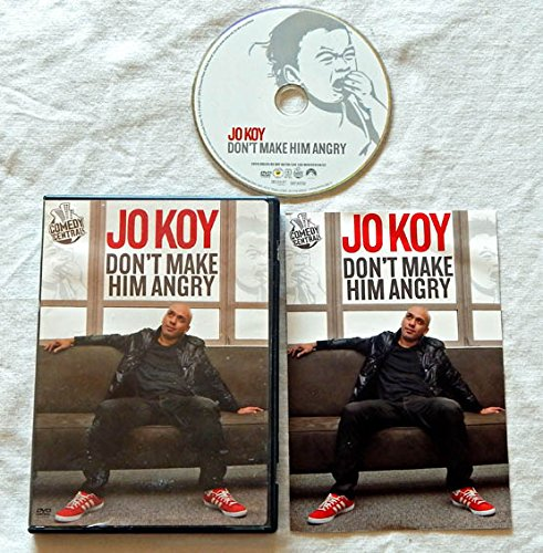 jo-koy-dont-make-him-angry-dvd-movie-comedy-central-2009-a-used-dvd-movie-graded-96-the-black-eyed-p