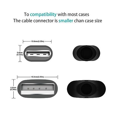 Amazon.com: Agvee - Cable USB tipo C para Samsung Galaxy S 8 ...
