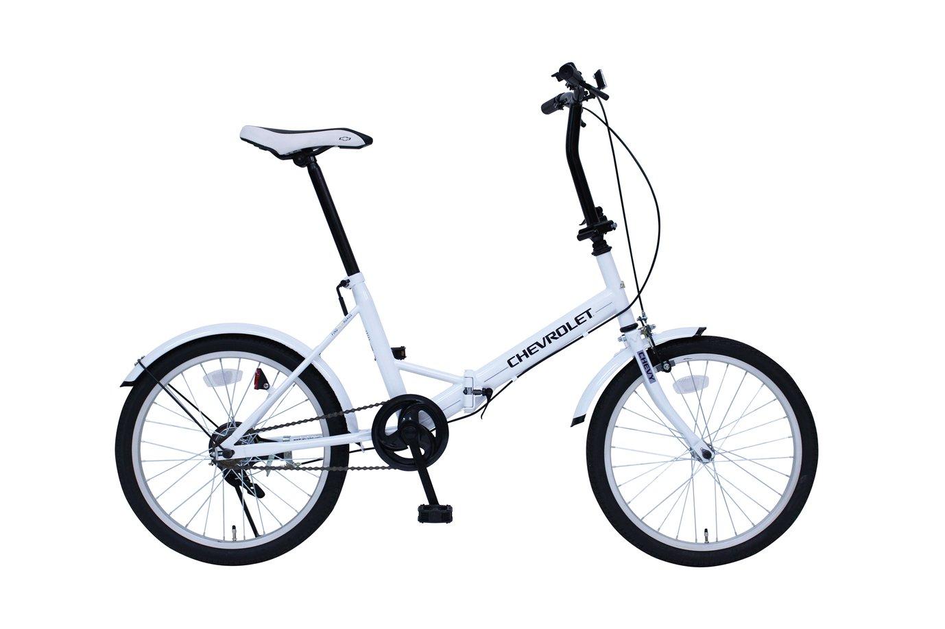 シボレー MG-CV20E ホワイト [折りたたみ自転車(20インチ)] B01N5Q9NNP