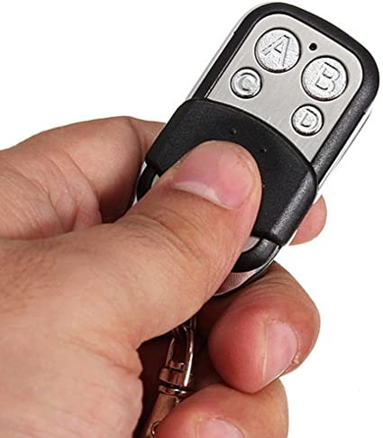 1~4 X Universal Cloning Remote Control Key Fob for Car Garage Door Electric Gate