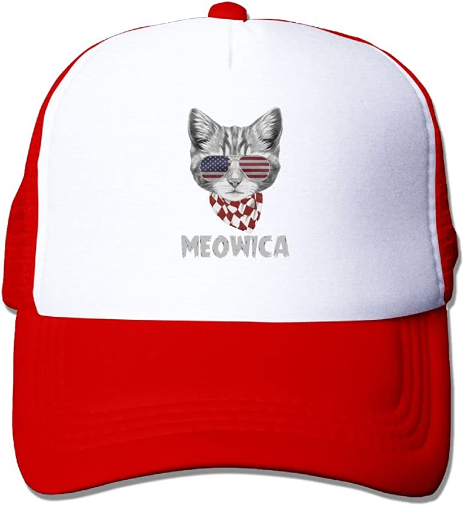 FeiTian Pride Cat Fitted Baseball Caps For Men Designs Great For Travle Running Fitted Hats