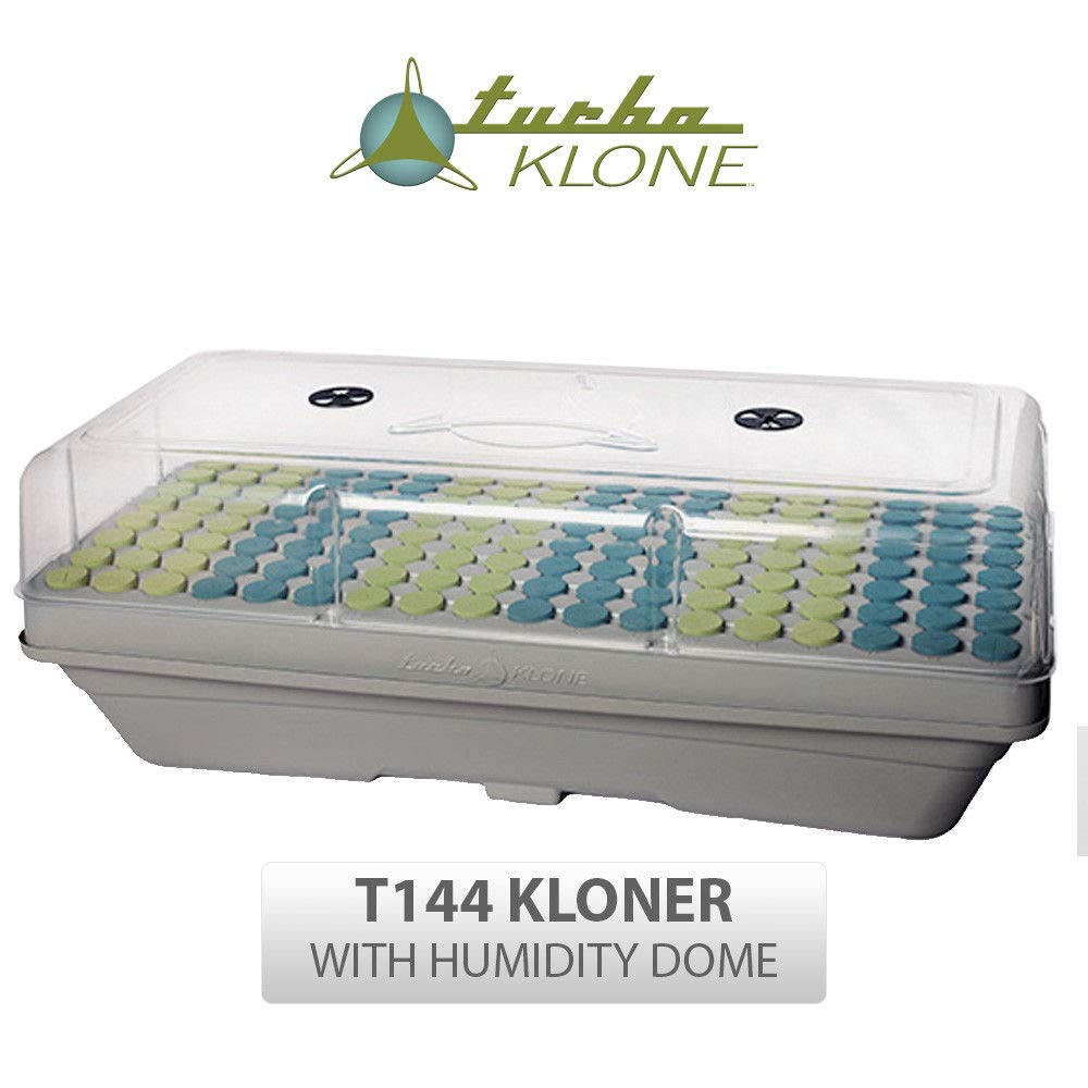 TurboKlone Aeroponic Cloning System High Sierra Elite Series with Humidity Dome ... (144 Site) by TurboKlone