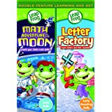 Leapfrog: Math Adventure to The Moon / Letter Factory - Double Feature