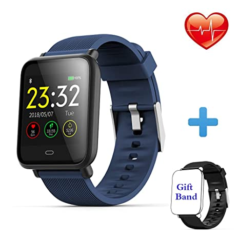 WELTEAYO Fitness Tracker Smart Watch Activity Tracker with Heart Rate Monitor, Activity Tracker with Color Screen, Fitness Tracker with Blood Pressure ...