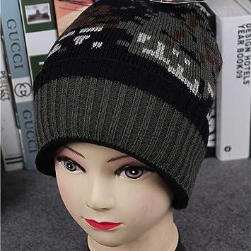 Amazon Tuscom Women Girl Warm Earmuffs Mosaic Pattern Knit Hat