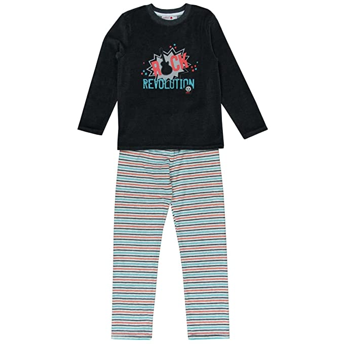 boboli Velour Pyjamas For Boy, Conjuntos de Pijama para Niños: Amazon.es: Ropa y accesorios