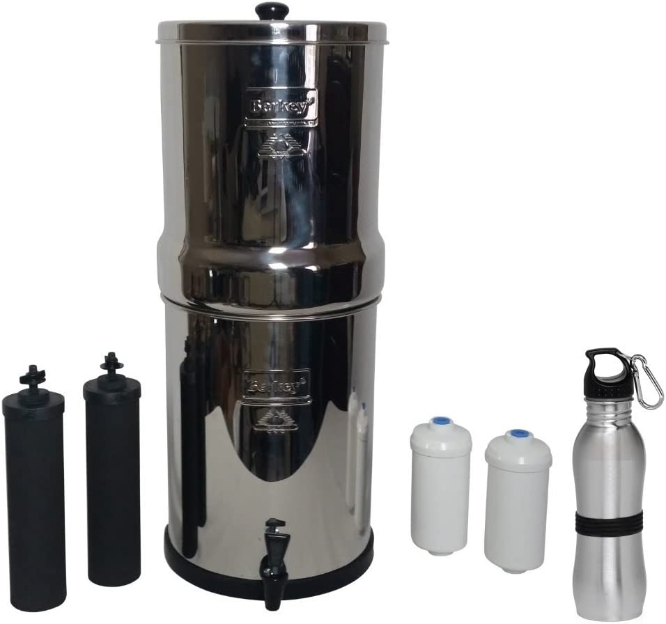 Royal Berkey Water Filter 3 Gallon System Bundle