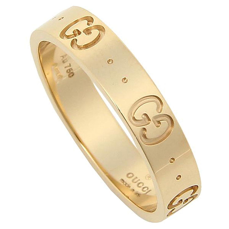 グッチ リング メンズ/レディース GUCCI 073230 09850 8000 GGアイコンスィンバンドリング 指輪 イエローゴールド[並行輸入品] B076WRN7LT23