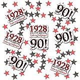 Partypro 1928 - 90TH BIRTHDAY DECO FETTI (24 piece plus metallic confetti) by