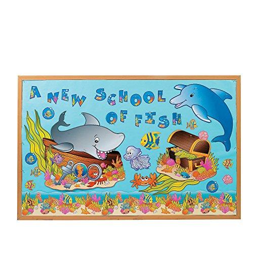 Fun Express - Bulletin Board Set - Under The Sea! - Educational - Classroom Decorations - Bulletin Board Decor - 133 Pieces]()