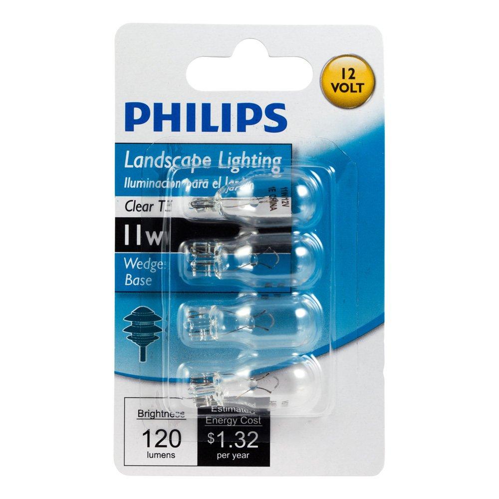 Philips 415828 Landscape Lighting 11 Watt T5 12 Volt Wedge Base Light Bulb   4 Pack   Landscape Path Lights   Amazon comPhilips 415828 Landscape Lighting 11 Watt T5 12 Volt Wedge Base  . Base Lighting And Fire Limited. Home Design Ideas