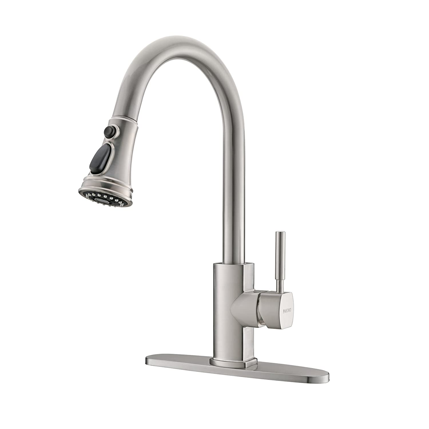 Paking Kitchen Faucet Kitchen Sink Faucet Sink Faucet Brushed Nickel Kitchen Faucets With Pull Down Sprayer Stainless Steel Bar Kitchen Faucet