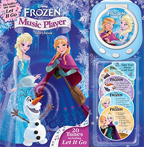 Disney Frozen Music Player Storybook (1)