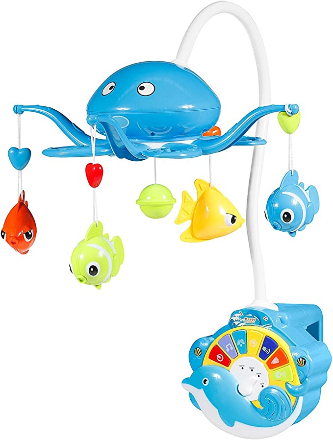 Innovaciones MS 513 - Carrusel pulpo, color azul: Amazon.es: Bebé