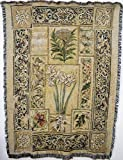 Pure Country Weavers ''Music in the Garden Blanket'' Tapestry Throw