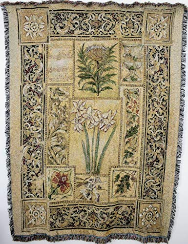 Pure Country Weavers ''Music in the Garden Blanket'' Tapestry Throw by Pure Country Inc.