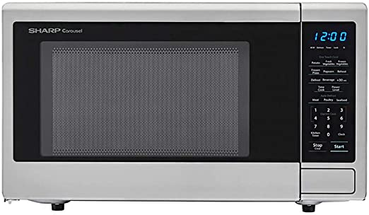 Amazon.com: SHARP SMC1132CS encimera microondas 1.1 cu ...