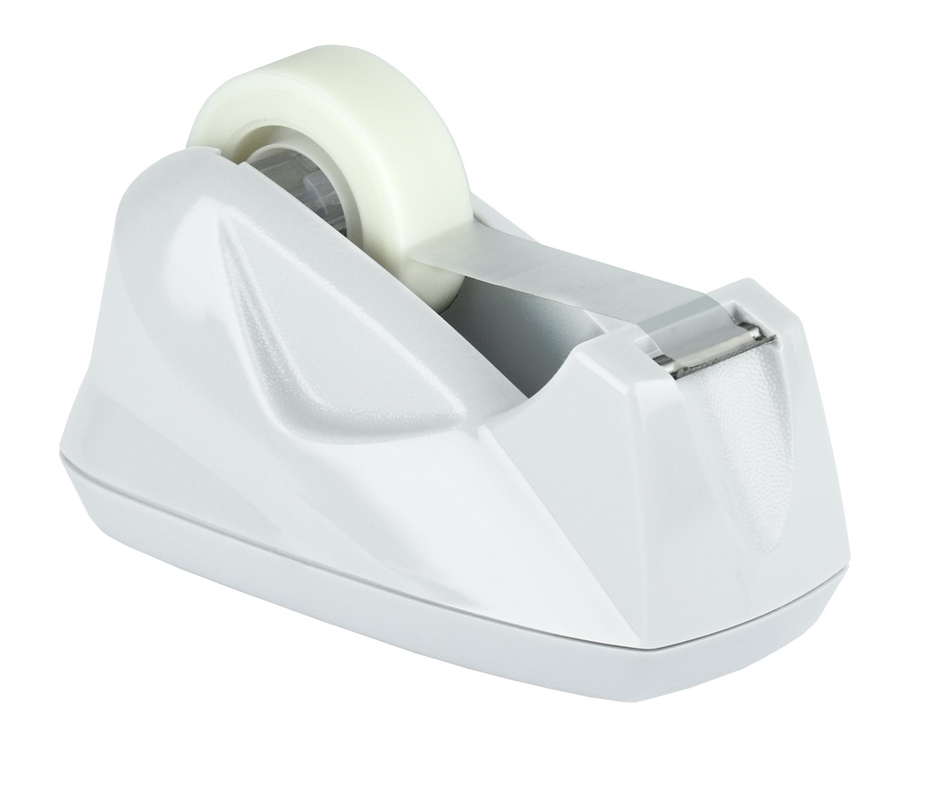 Acrimet Premium Tape Dispenser (White Color)