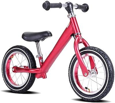 Bicicletas sin pedales Peso Ligero for Niños Balance Car Sin Pedales Balance Bicycle 2-6 Años de Edad Aleación de Aluminio Anodizado Niño Slide Car (Color : Red) : Amazon.es: Juguetes y juegos