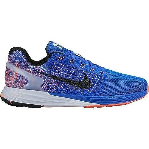 Nike Damen WMNS Lunarglide 7 Flash Laufschuhe, Blau (RCR