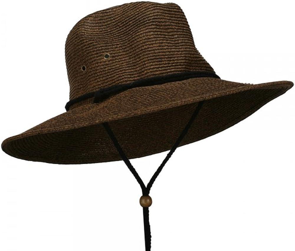 Chin Cord Safari Hat Jeanne Simmons Mens UPF 50