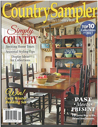 The Country Sampler Magazine January 2017 -