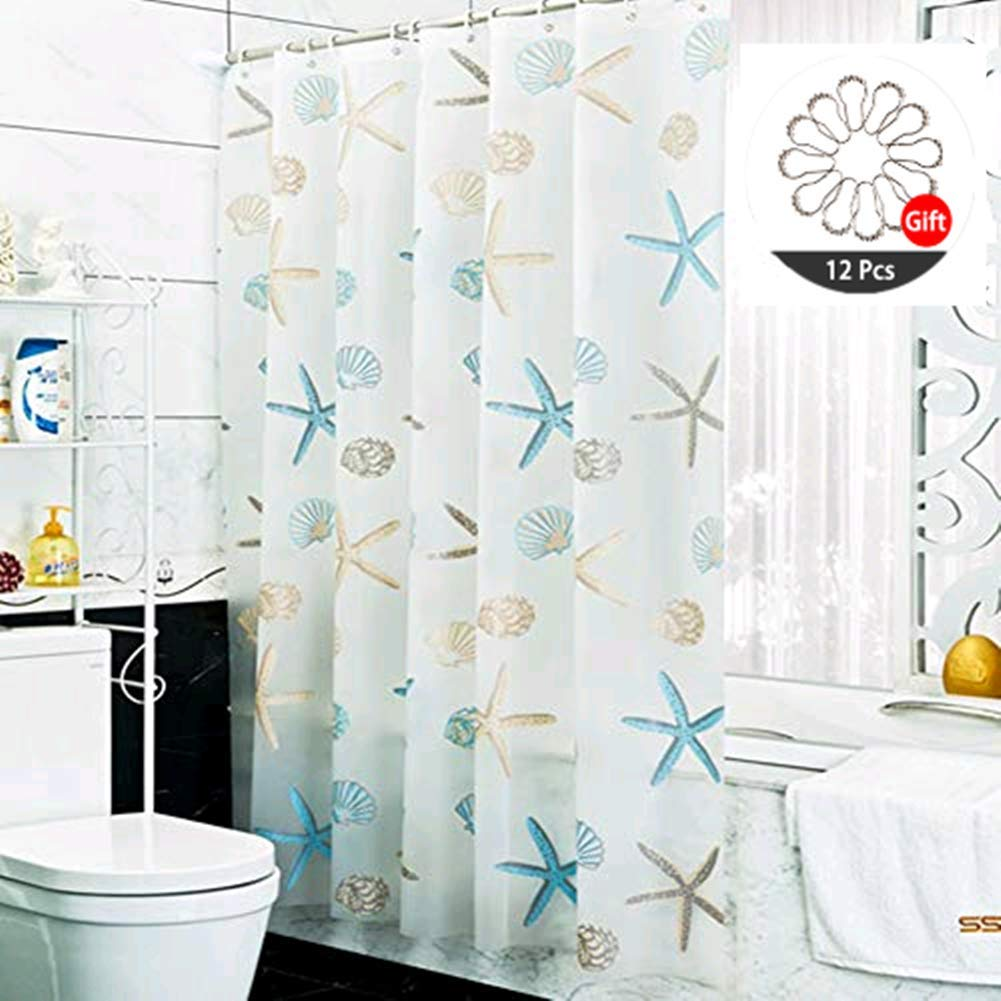 Top Best Nautical Shower Curtains Reviews in 2020 1