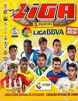 PANINI España LIGA BBVA 2015 2016 Coleccion Completa Cromos Stickers + Album: Amazon.es: Panini: Libros