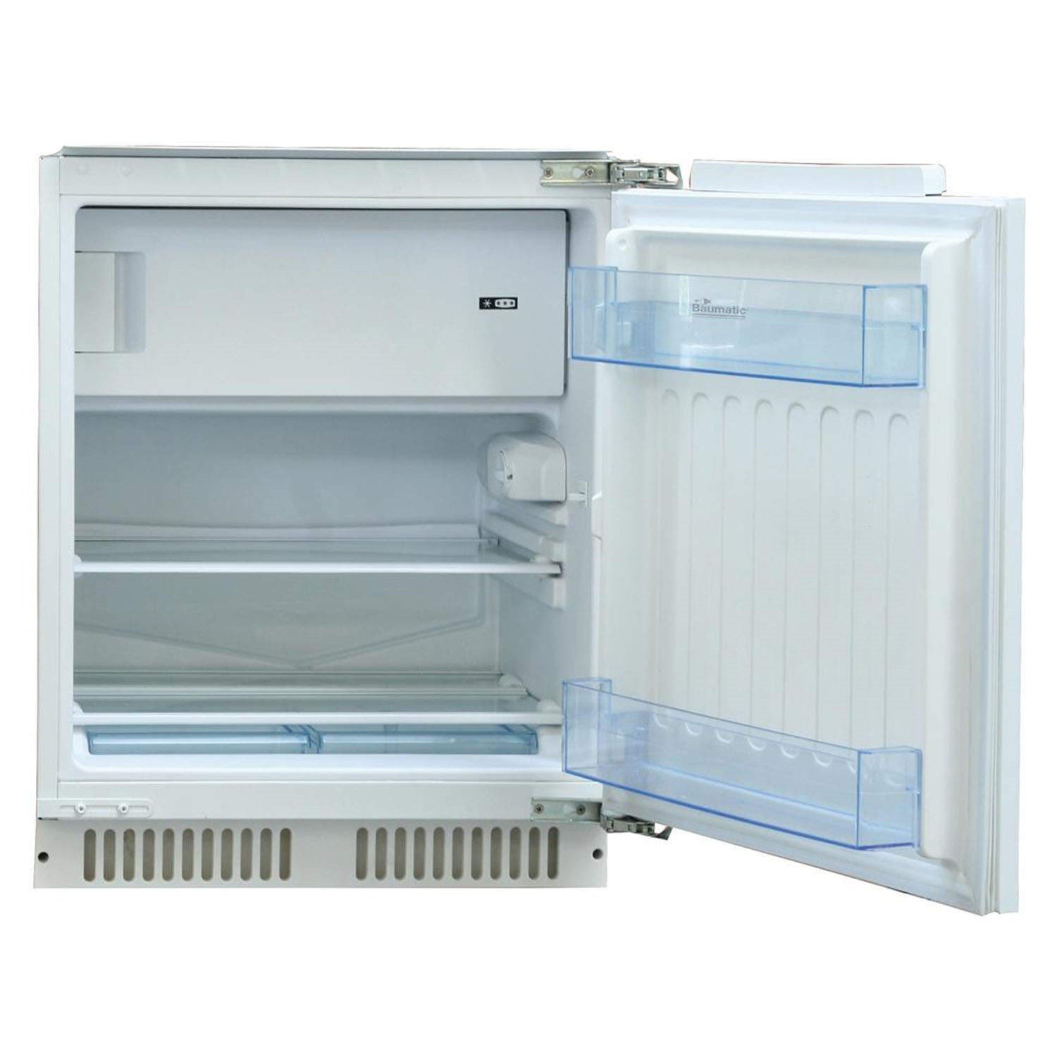 Counter Fridge Baumatic Br100 118 Litre Integrated Under Counter Fridge With Ice