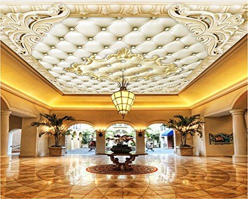 Mznm Custom ceiling mural ceiling European wallpaper living room hotel ceiling photo 3d wallpaper tapeta do pokoju 400X280cm