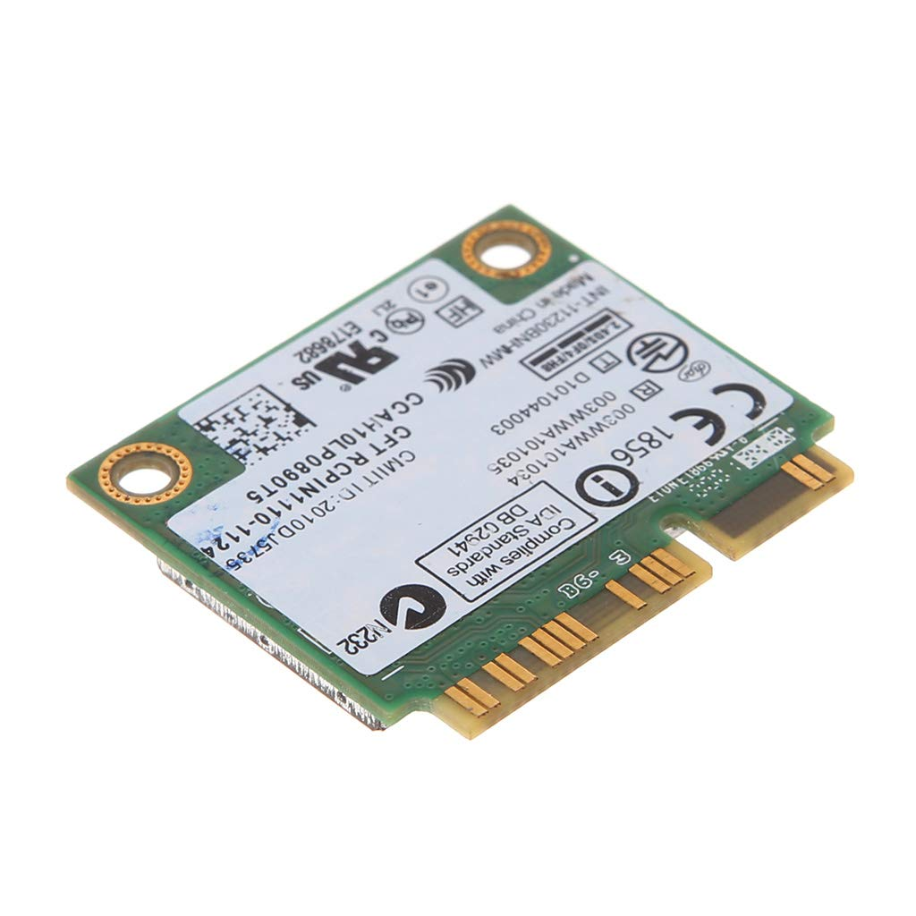 yihonersty For Intel Wireless-N 1030 11230BNHMW 300M WiFi Bluetooth Mini PCI-E Combo Card