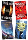 The Complete Arthur C. Clarke's Space Odyssey Series Books 1-4 (2001: A Space Odyssey, 2010: Odyssey two, 2061: Odyssey…