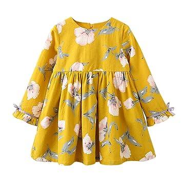 Feixiang Vestido de niña Vestido de niña recién Nacida Ropa de niña Ropa de niña Ropa