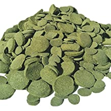 Wafers Mixed Size Wafers of Spirulina, Algae, Wafers for Plecos, Catfish & More 2 & 1/2-lbs