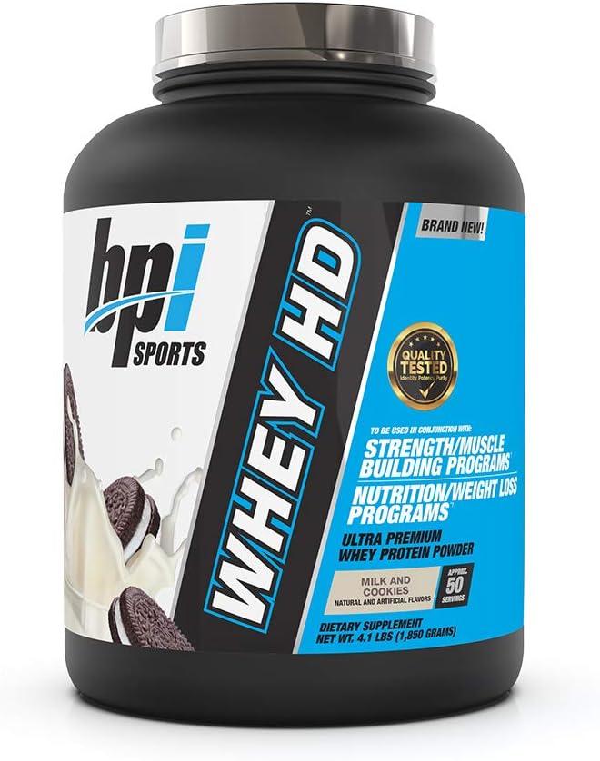 Bpi Sports Whey-HD (4lbs) 1850 g: Amazon.es: Salud y cuidado ...