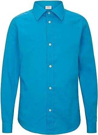 s.Oliver 79.502.21.8850 - Camisa hombre, con manga larga para ...
