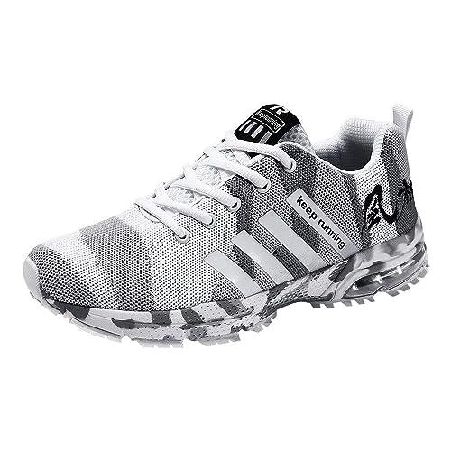 Zapatos Hombre Black Friday Casuales Invierno Zapatos de Camuflaje de Malla Transpirable Zapatillas Deportivas Zapatillas Deportivas Calzado Casual: ...