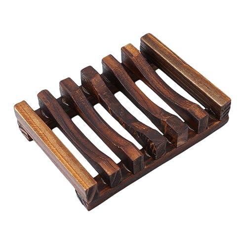 yesiidor seifenschale holz dusche holz seife fall bambus seifen form halter - Duschen Im Garten Mit Seife