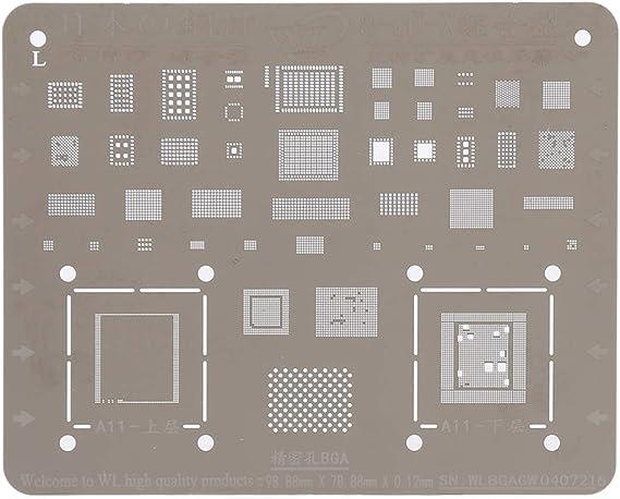 Linmatealliance Repair Tool Kit Repair/&Spare Parts Mobile Phone Rework Repair BGA Reballing Stencils for Galaxy S IV